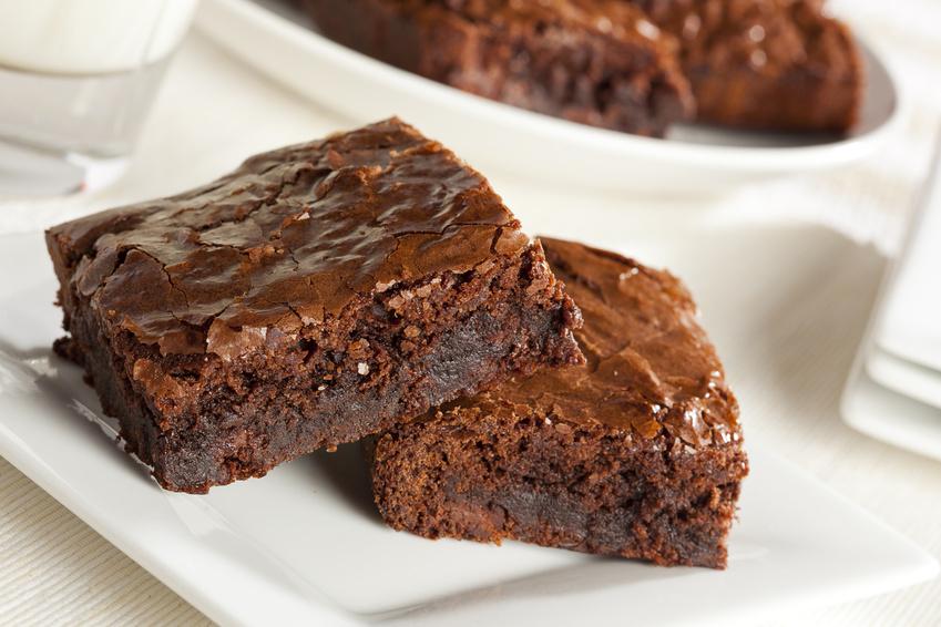 Selbstgemachte Brownies für Selber kochen ist cool