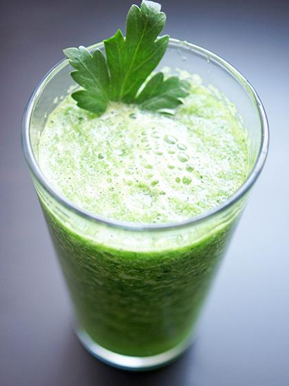 Zitronenwasser, Der Grüne Morning-Drink, Der Super-Smoothie, Super-Drinks