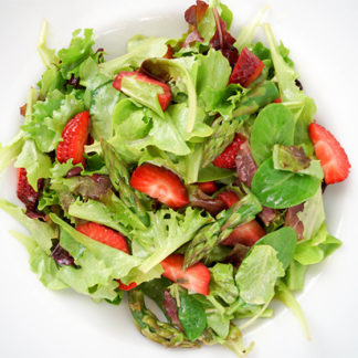 Spring Salad with Strawberries, Asparagus & Avocado