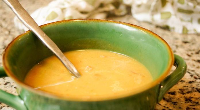 Französisch-Kanadische Erbsensuppe (Soupe aux Pois)