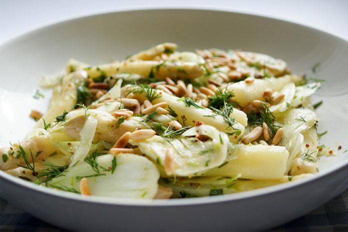 Spargel Salat Mit Fenchel Elle Republic