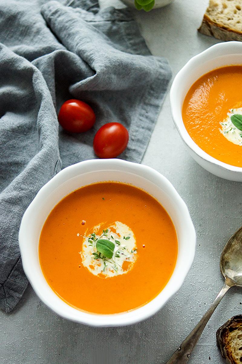 tomaten orangen suppe rezept elle republic einfach. Black Bedroom Furniture Sets. Home Design Ideas