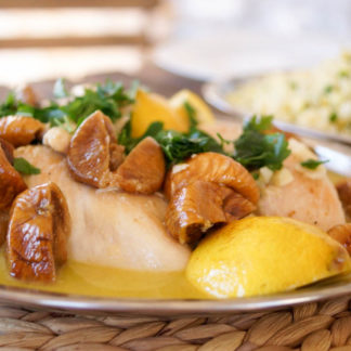 Chicken with Dried Figs