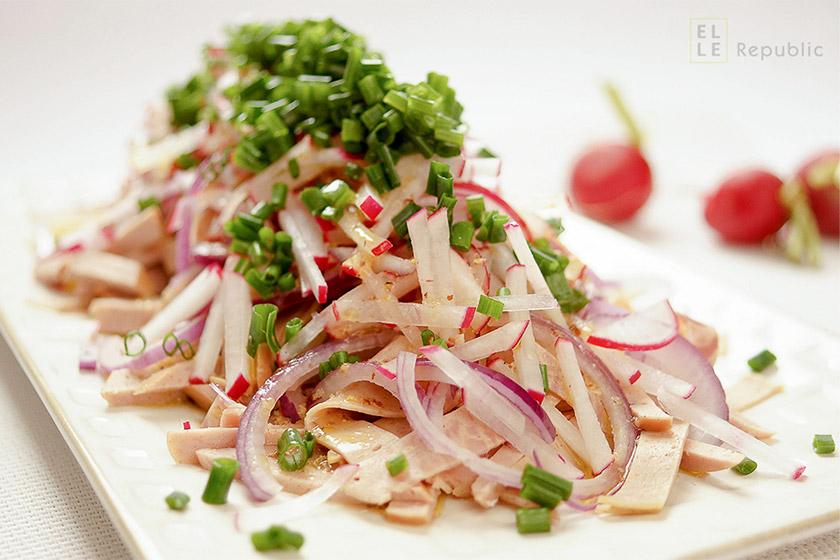 Wurstsalat - German Sausage Salad