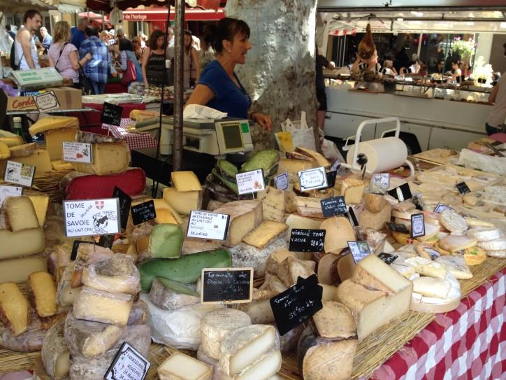 Markt in Aix-en-Provence von Ellerepublic.de