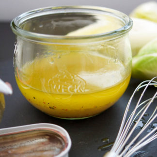 Lemon Anchovy Dressing