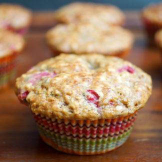 Buttermilk Red Currant Muffins
