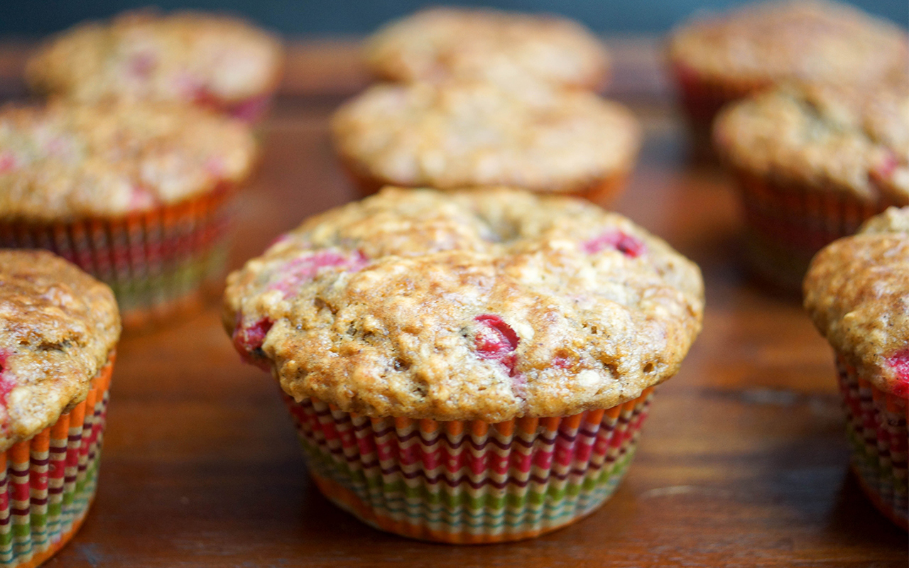 Buttermilk Red Currant Muffins