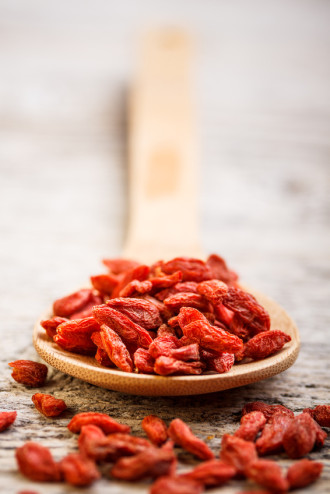 Goji Beeren, Superfood