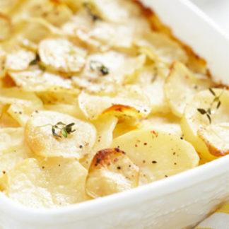 Rezepte Gallette de Pomme de Terre – Kartoffel-Gallette mit Parmesan