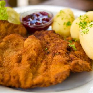Wiener Schnitzel oder Schnitzel Wiener Art