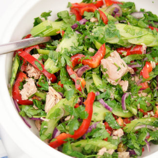 Parsley Tuna Salad