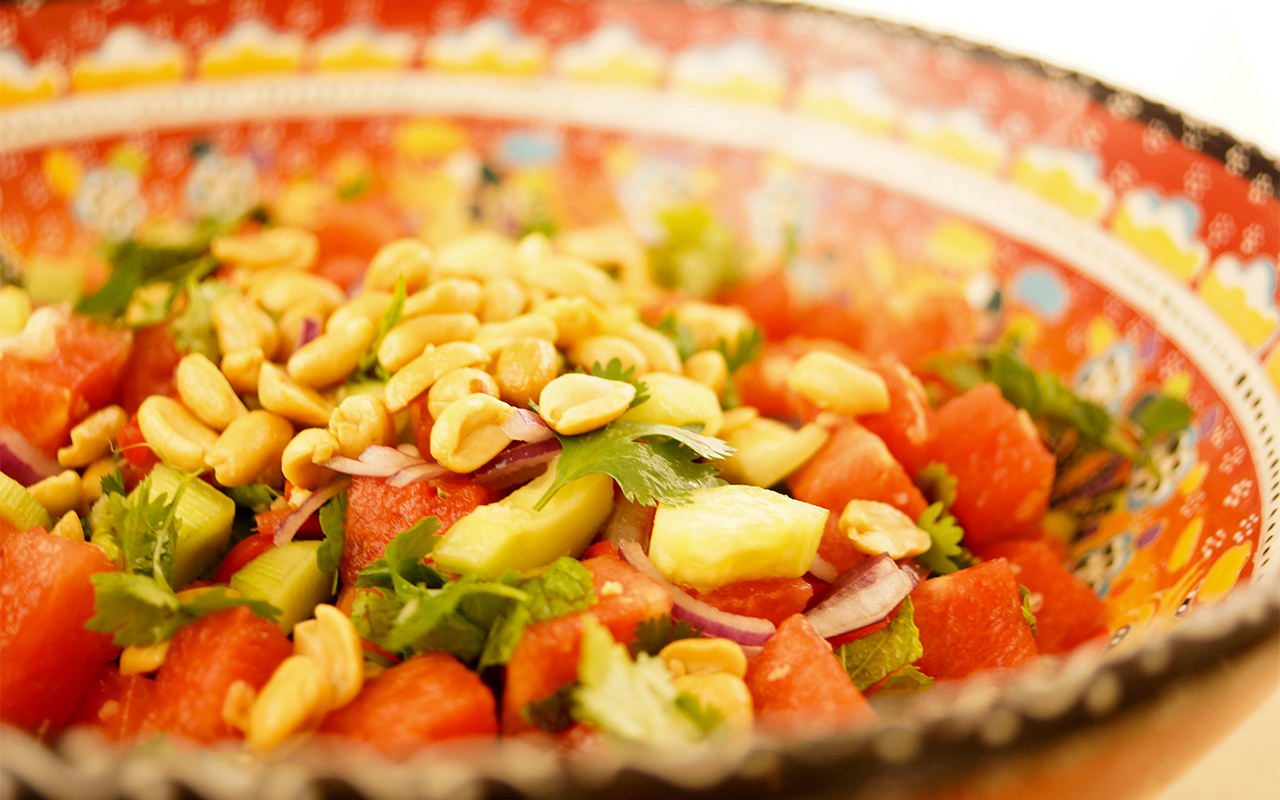 Wassermelonen-Salat2