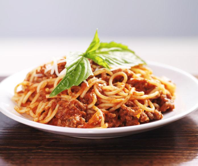 Spaghetti Ragu mit Rindfleisch