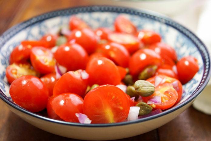 Tomato Caper Salad