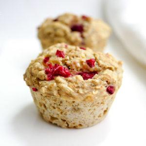 Rezept für Bananen-Himbeer-Muffins von Elle Repbublic