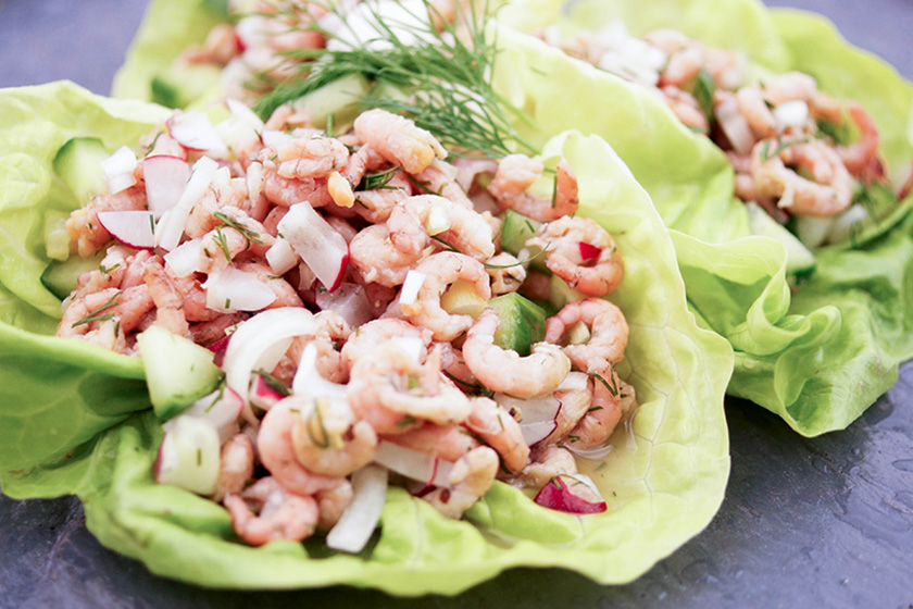 Büsumer Krabbensalat, North Sea Shrimp Salad