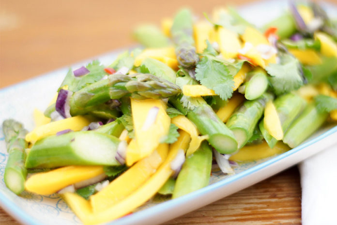 Asparagus and Mango Salad