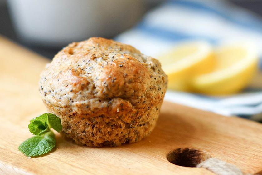 Zitronen-Muffins mit Mohn von Elle Republic