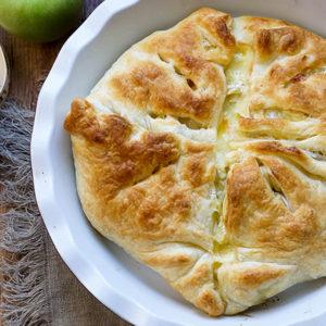 Apfel-Pastete (Apple Pie) mit Camembert von Elle Republic