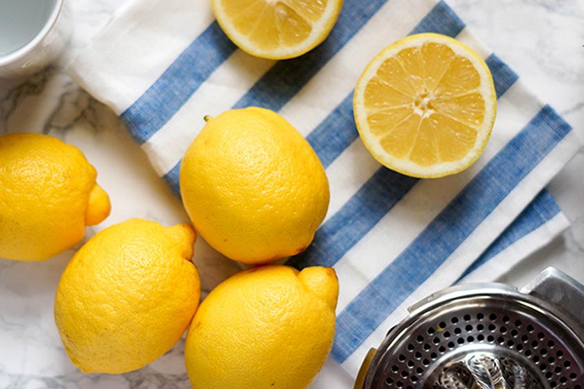 Aufgeschnittene Zitronen von Elle Republic