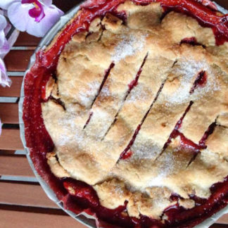 Erdbeer-Rhabarber-Pie von Elle Republic