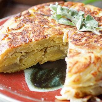 Tortilla Española (Spanish Potato Omelet)