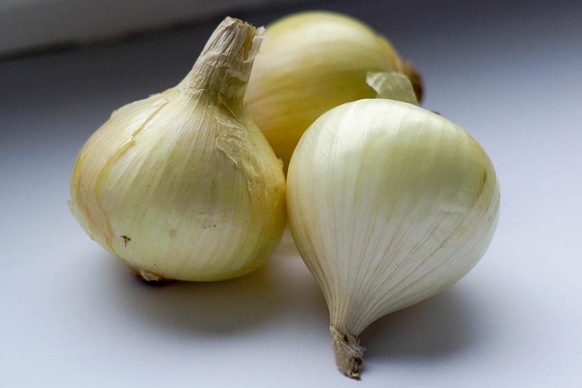 Süße Zwiebeln