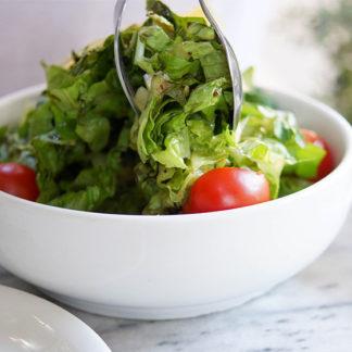 Salat; gesunde Ernährung für Workaholics