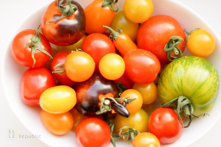 Gemischte Heirloom Tomaten