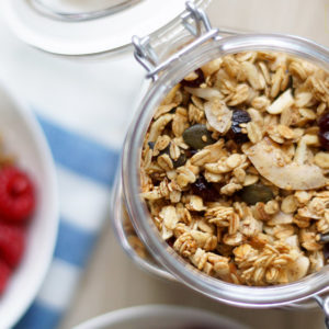 Nutty Coconut Granola (+ Parfait Recipe)