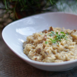 Porcini Mushroom Risotto with Sage