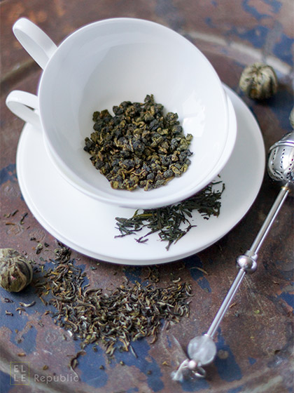 Tee kochen, Abnehmen mit natürlichen Lebensmitteln