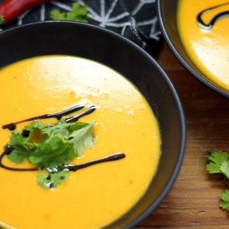 Ginger Chili Hokkaido Pumpkin Soup
