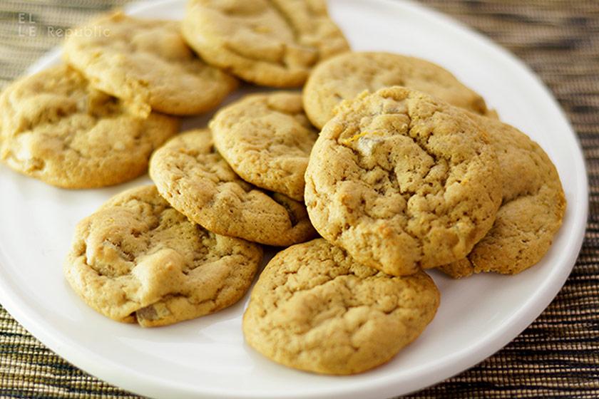 Ingwer Kekse mit frischem Ingwer, kandierten Ingwer und gemahlenen Ingwer