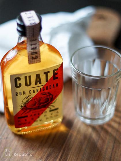 Flasche CUATE 01 Caribbean Rum Blanco Especial