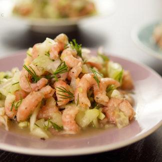 North Sea Shrimp Salad (Büsumer Krabbensalat)
