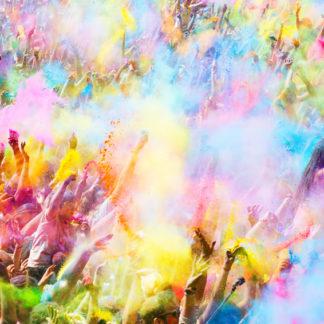 Holi Farbfestival Barcelona