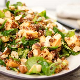 Roasted Rutabaga Salad with Quinoa