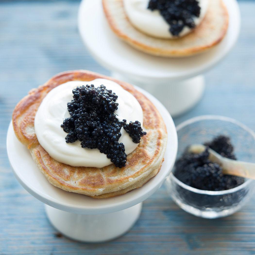Butterblinis mit Seehasen-Kaviar, Quelle MSC, ® MSC