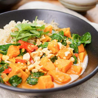 Sweet Potato Red Thai Curry