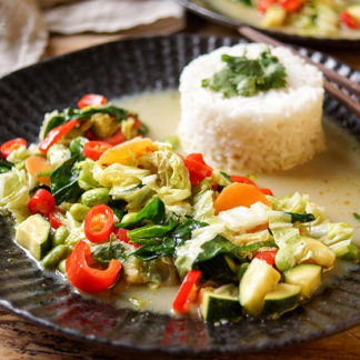 Thai Green Curry with Mixed Vegetables
