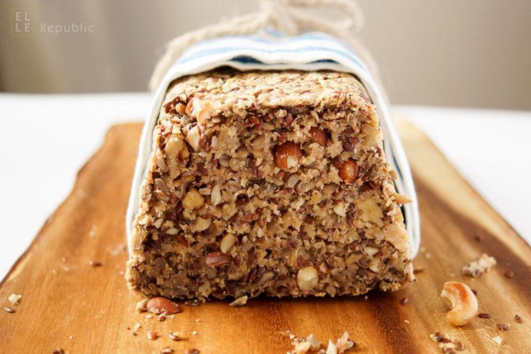 Nut Seed Loaf (Gluten-free + Vegan)