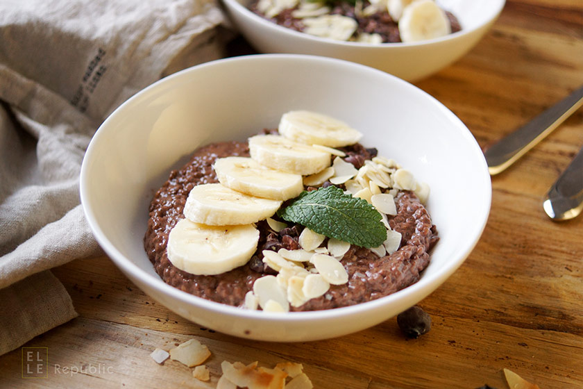 Delectable Chocolate Chia Seed Superfood Pudding