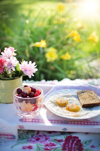 in Ruhe frühstücken für Natürlich verdauen