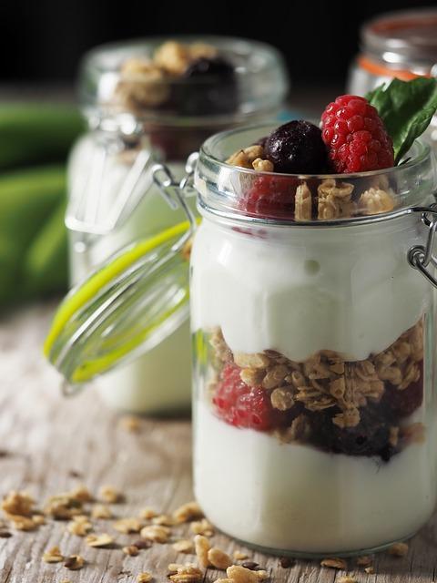 Jogurt-Parfait für Natürlich verdauen