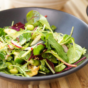 Asian-Style Salad with Edamame