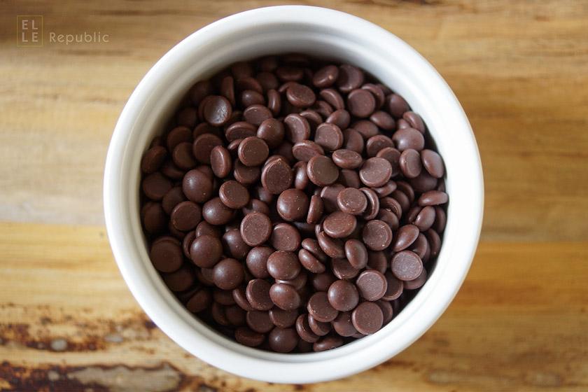 Bio-Schokotropfen Zartbitter für Schokoladen Granola
