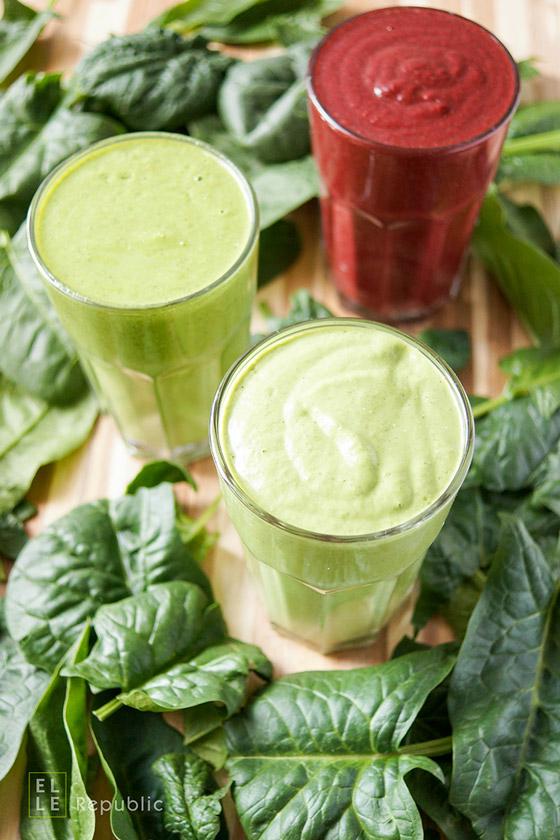 Birne, Rotebeete, Avocado Spinat-Smoothies Rezepte (Grüne Smoothies für Anfänger)