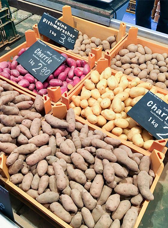 Frühkartoffeln Isemarkt
